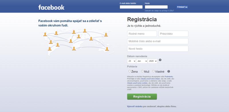 Sledujte sociálne siete