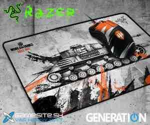 Súťaž o RAZER DeathAdder World of Tanks a podložku pod myš