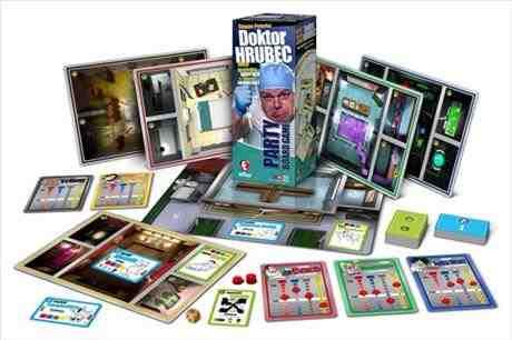 SOUTĚŽ o společenskou hru Doktor Hrubec