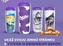 Tri najlepšie designy vyhrajú 10 kg Milka veľkých čokolád.