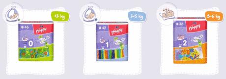 Vyhrajte ročnú zásobu plienok a balíčky od Happy