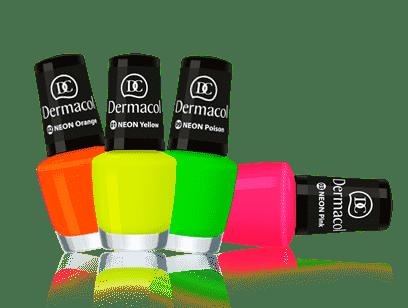 neon rainbow dermacol sutaz
