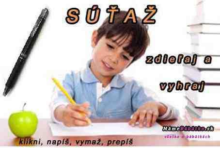 Chceš vyhrať pero PILOT pre svoje dieťa?