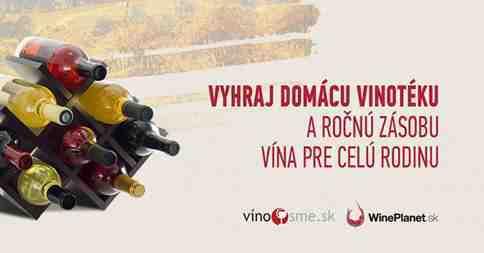 Vyhraj domácu vinotéku a ročnú zásobu vína