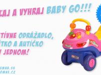 Vyhraj interaktívne odrážadlo Baby Go 3v1