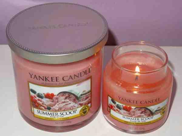 Vyhraj sviečku Yankee Candle - summer scopp