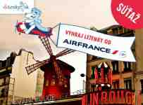 Vyhrajte dve letenky do Paríža od Air France