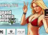 Vyhrajte hru Grand Theft Auto 5 na platformu podľa vlastného výberu