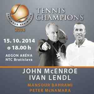 Vyhrajte lístky na exhibíciu Lendl - McEnroe!