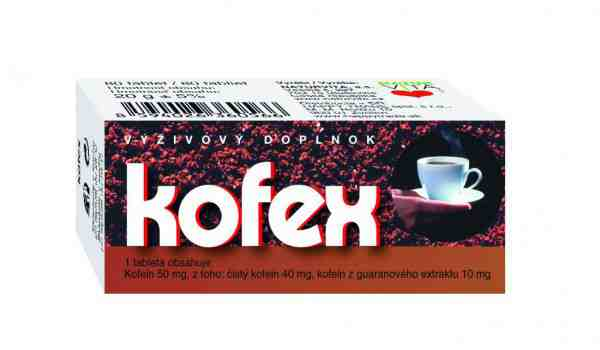 Vyhrajte prírodné tabletky Kofex proti únave