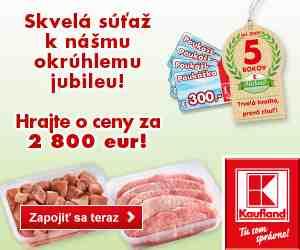 Súťaž o nákupné poukážky v celkovej hodnote 2 800 Eur
