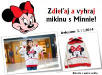 Súťaž o mikinu s Minnie Mouse!