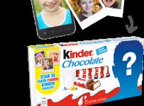 Staň sa tvárou Kinder Čokolády