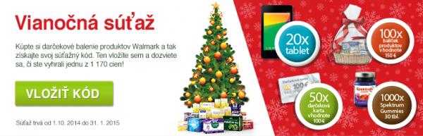 Vianočná súťaž s Walmarkom