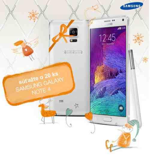 Vianočná súťaž so Samsungom