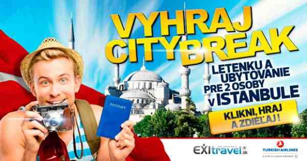 Vyhraj City Break v Istanbule