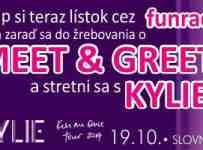Vyhraj Meet & Greet s Kylie Minogue!