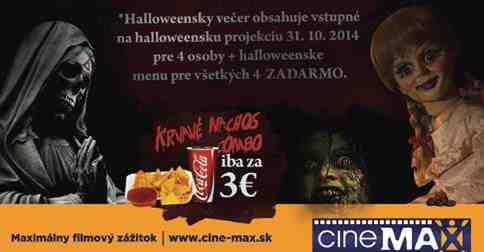Vyhraj halloweensky večer pre seba a svojich priateľov