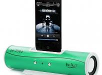Vyhrajte dokovací stereo reproduktor hi-Tube