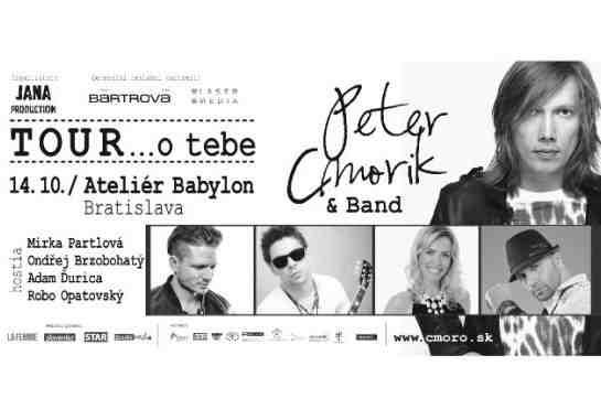 Vyhrajte lístky na Peter Cmorik & Band tour 2014