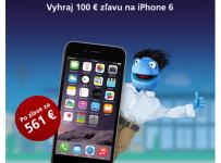 Vytrvalosť zľavu na iPhone 6 prináša