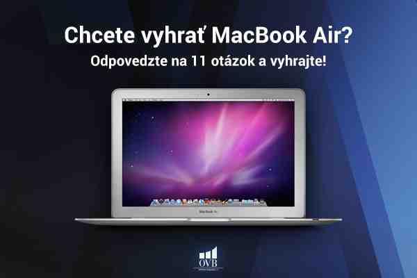 Súťaž o MacBook Air, iPad a iPhone