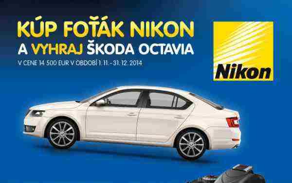 Kúp foťák Nikon a vyhraj auto!