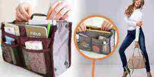 Súťaž o 3 bordové organizéry do kabelky