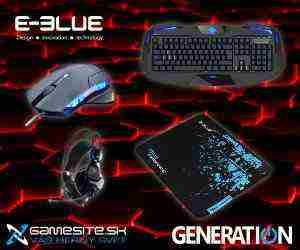 Súťaž o 3x ceny od spoločnosti E-BLUE