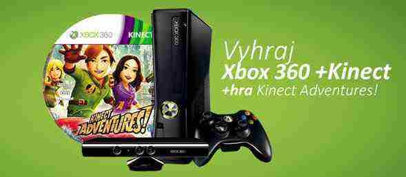 Súťaž o XBOX 360, Kinect s hrou Kinect Adventures!