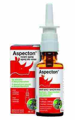 Súťažte o Aspecton® Sprej do nosa