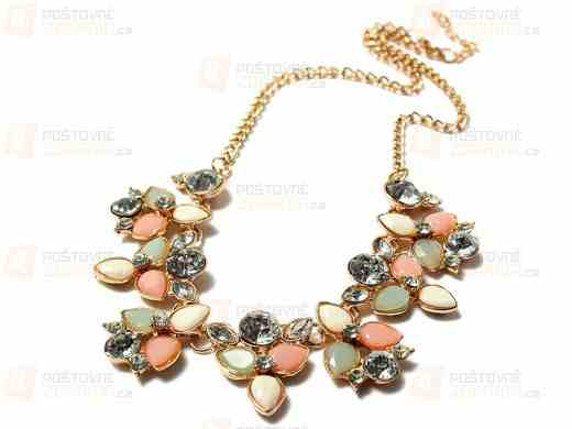 Soutěž o Kvetinový náhrdelník z brúseného skla