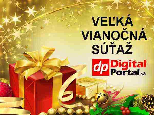 Veľká Vianočná súťaž s portálom DigitalPortal.sk