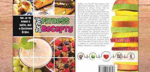 Vyhraj sadu kníh Zdravé fitness recepty 1 a 2