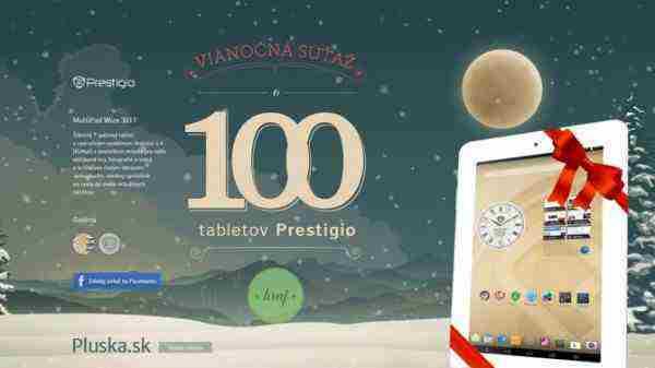 Vyhrajte 100 tabletov Prestigio!