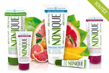 Vyhrajte balíček bio kosmetiky Nonique.
