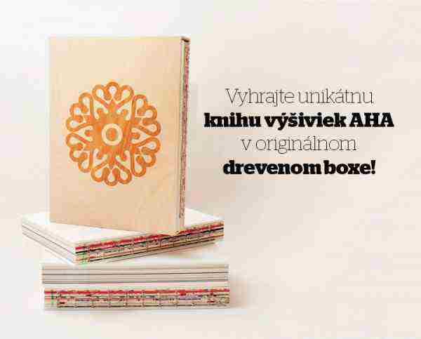 Vyhrajte unikátnu knihu o slovenských výšivkách!