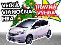 Vyhrajte nový Nissan Note
