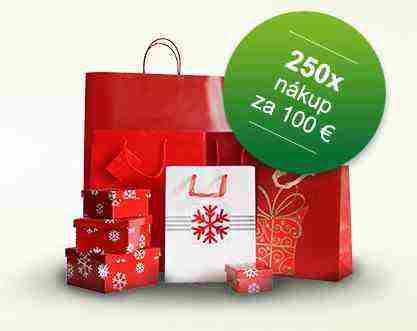 Vyhraj vianočný nákup v hodnote 100 €