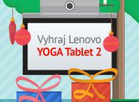 Hraj o dva nové tablety Lenovo YOGA Tablet 2!