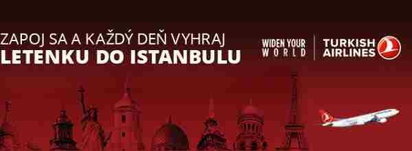 Poleť do Istanbulu!