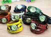 Súťaž o Koženkové hodinky s vícebarevným páskem
