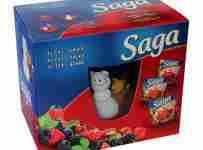 Súťaž Saga darčekový balíček
