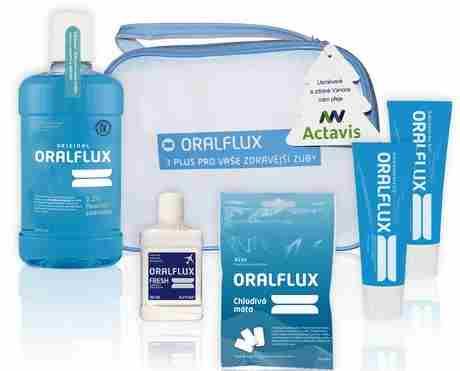 Soutěž o úplnou rodinu produktů péče o chrup ORALFLUX