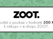 Vánoční soutěž o poukaz v hodnotě 500 Kč na nákup v e-shopu Zoot