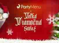 Veľká vianočná súťaž s Partymenu.eu je tu opäť