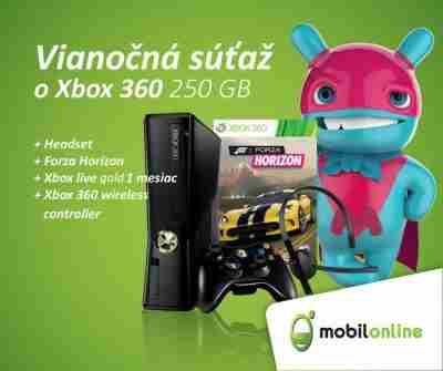 Vianočná súťaž o XBOX 360 250 GB