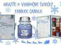 Voňavá súťaž o zimné vône sviečok YANKEE CANDLE