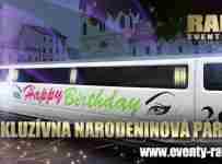 Vyhraj 4 lístky + VIP odvoz limuzínou od exkluzívneho limuzínoveho servisu RAI