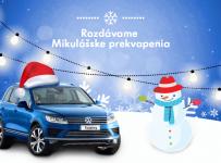 Vyhraj skvelé Mikulášske ceny od Volkswagen!